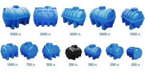 Пропонуємо ємності та баки для води, різного об'єму і конфігурації