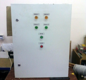 Пульти керування PC-FS призначені для каскадного керування насосами в системі автоматичного пожежогасіння
