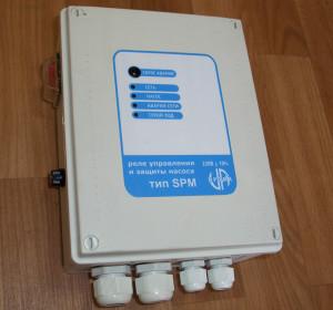 Управління і захист однофазного насоса (V-220В)