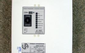 Управління і захист трьохфазного насоса тип СУН (V-380В)