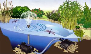 Заглибні насоси для фонтанів