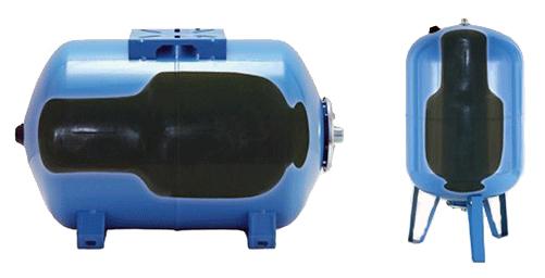 Ось так гідроакумулятор виглядає в розрізі.