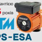 Циркуляційні насоси серії BPS-ESA «Насоси плюс обладнання»